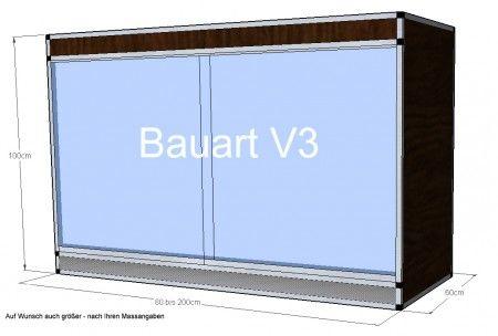 Terrarium V3 - 60x60x100cm