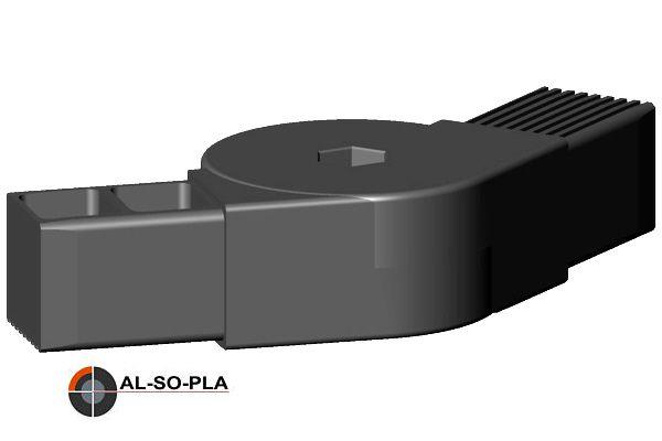 Winkel- Gelenkverbinder für 40mm Profil, 0-180°