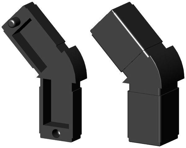Achteckverbinder für 20mm Profil