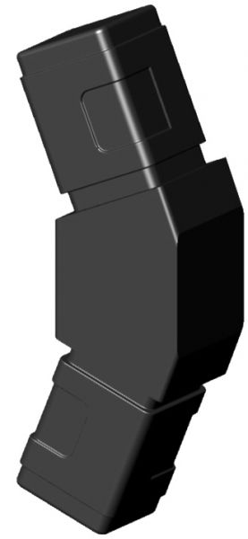 Achteckverbinder für 25mm Profil