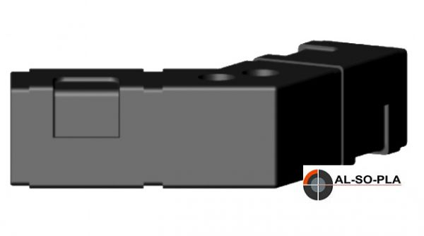 Sechseckverbinder für 25mm Profil o.Kopf
