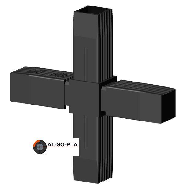 Kreuzverbinder für 30mm Profilrohr