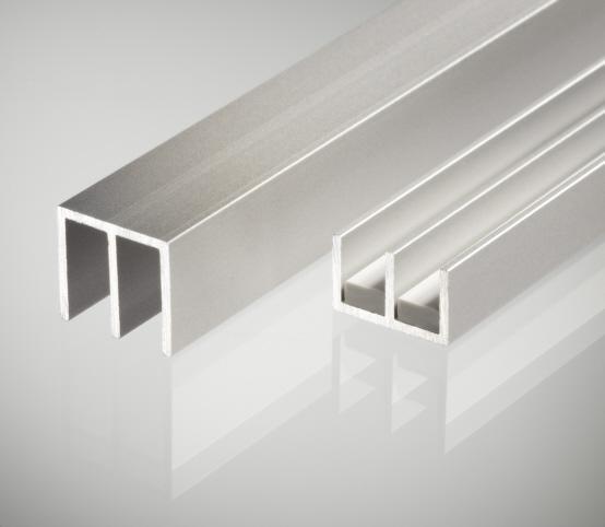 Schiebet 252 Rprofil 4mm Aluminium Unten E Profile Alu