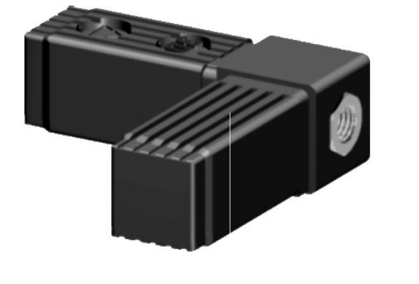 Winkel mit M10 Gewinde für 30x30x2mm Profilrohr
