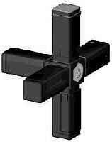 Steckverbinder für 25x25x1,5mm Profile