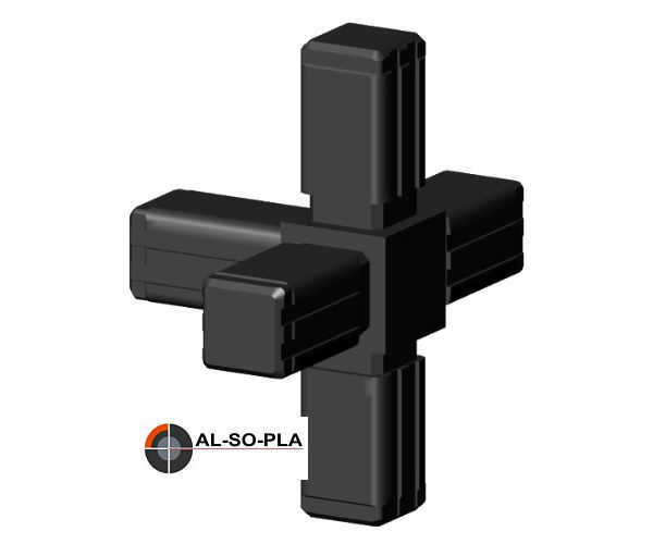 5er Verbinder Kunststoff für 13,5mm Profil