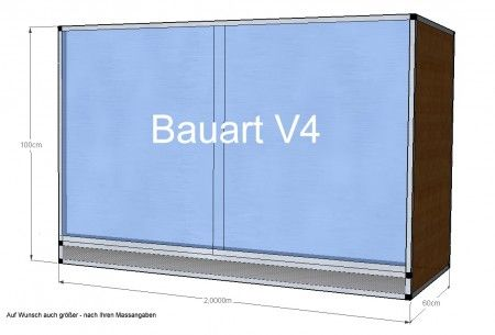 Terrarium V4 - 130x60x100cm