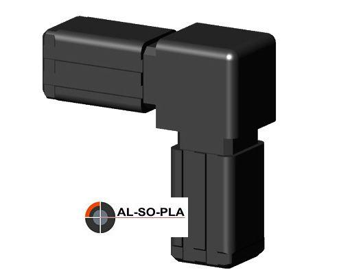 Winkel Verbinder für 13,5mm Profil