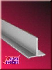 Aluminium T-Profil 20x20mm - silbereloxiert.