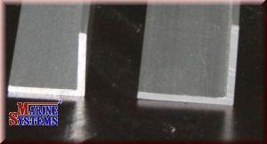 Aluminiumprofil Winkel 20x20mm - silbereloxiert.