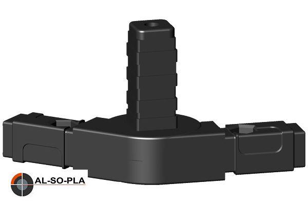 Ecke Gelenkverbinder für 20mm Profil 0- 190°