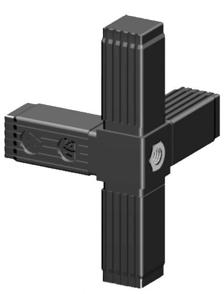 4er mit M10 Gewinde für 25mm Profil