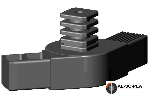 Ecke Gelenkverbinder für 40mm Profil 0-180°