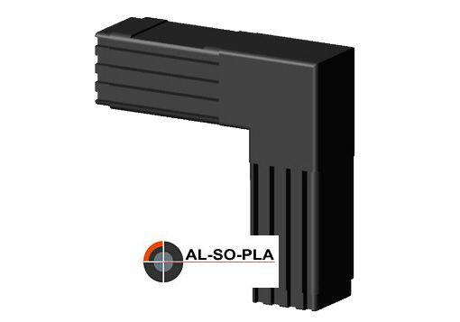 Winkel Verbinder ohne Kopf für 25mm Profil