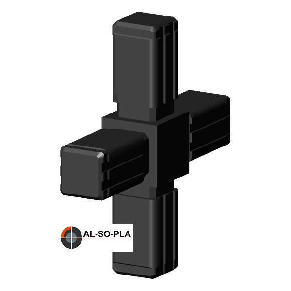 Kreuzverbinder für 13,5mm Profilrohr