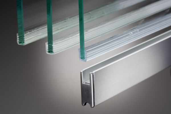 Laufschuh bis 8mm Glasstärke